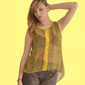 Blusa Estampado Miniprint...
