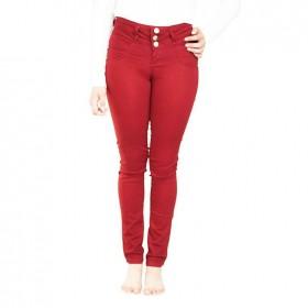 Pantalón Rojo Para Mujer...