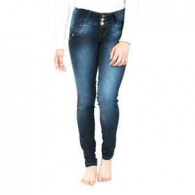 Jeans Azul Oscuro Para...