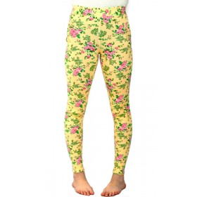 Leggings Amarillo Estampado...