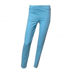 Pantalón azul turquesa en...
