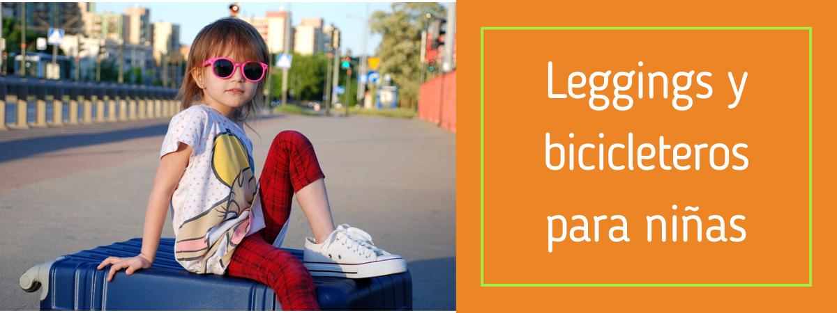Leggings y bicicleteros para niñas